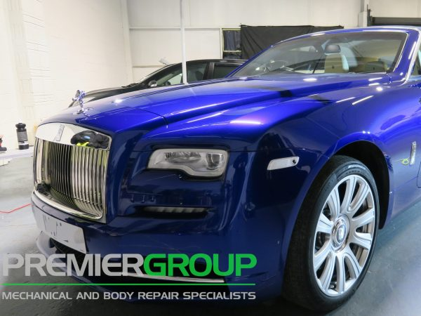 Rolls Royce after detailing treatment
