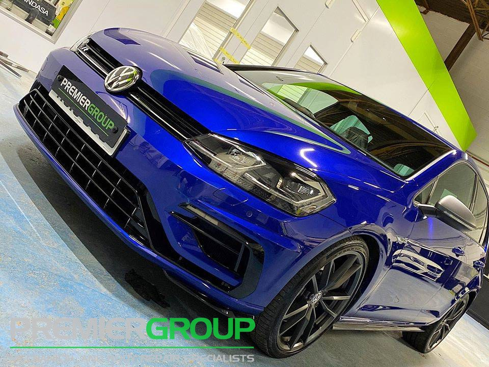 Polished VW Golf R