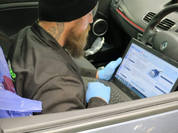 Diagnostics underway in drivers seats