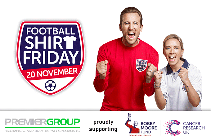 Cancer Research – Football Shirt Friday