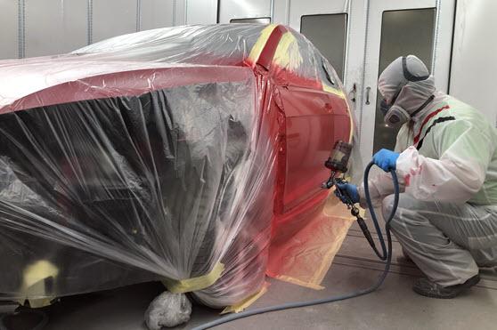Car Body Repairs At Premier Group Cannock